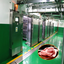 Food Defroster Meat Thawing Equipment Meat Defrosting Machine for Beef Pork Mutton Halal Lamb Processing Line Defrost Machinery
