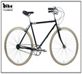 Thumbike hot sale 700C hi-ten city bike bicycle for man with japan shimano internal 3 speeds