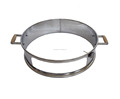 Stainless steel pizza ring JXR550PB for 57cm ball grills