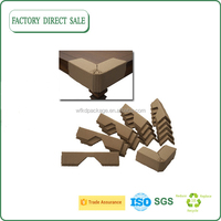 To protect cargo and shipping paper corner protector