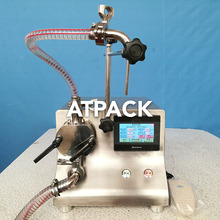 Atpack high-accuracy gear pump 380V 220V Glass Bottle filling machine with CE GMP