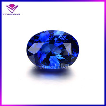 Honorable Oval Jewelry Blue Colored Sapphire Burma Blue Synthetic Spinel Stone