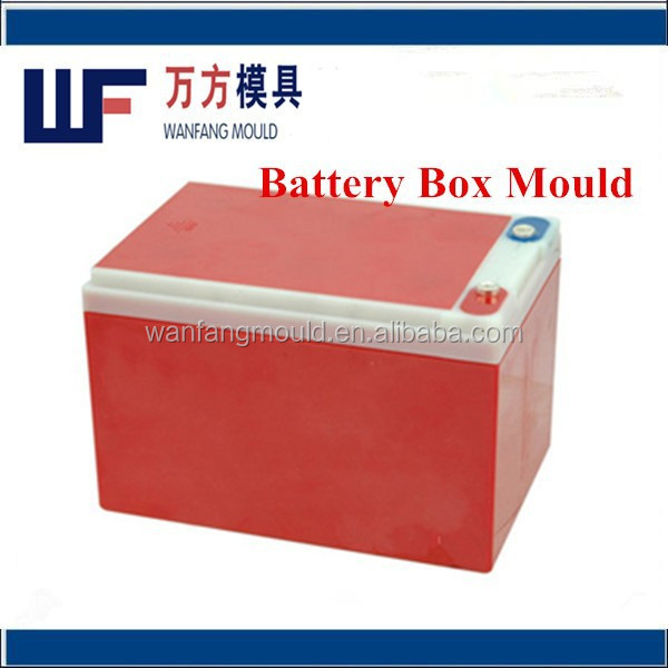 abs battery box plastic mould/plastic storage battery box mould factory