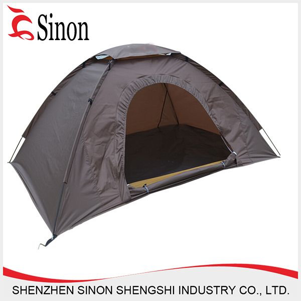 190T polyester cheap cold weather tent , cold-proof folding sleeping tent