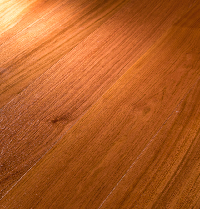 High Quality Red solid wood floor of teak
