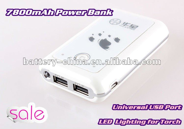 Top Star 10000mAh Portable Power Bank for Samsung Galaxy Note, S2/S3