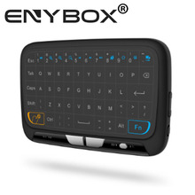 ENYBOX 2.4G Wireless Vibration Large Touchpad Keyboard H18 for andriod tv box ,pc ,pad