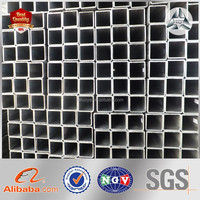 Professional Hot Dip Galvanized Square Steel Tubular Black Carbon Welded Square Steel Hollow Section Weight Square Steel Pipe