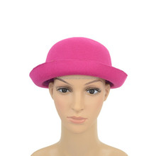 Children 100 polyester hat cheap felt hat