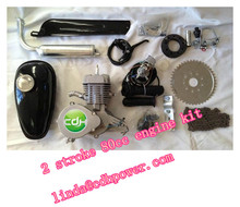 factory price 2 stroke 80cc gas bicycle engine kit from China