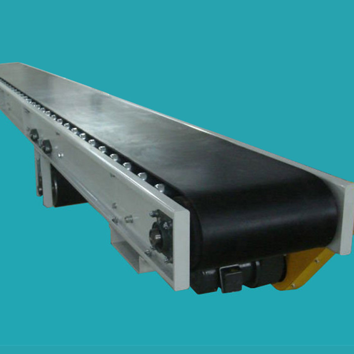 The Concrete Machine Rubber Roller Tilt Belt Conveyor