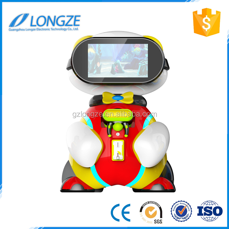 New Virtual Reality Longze Amusement Center Interactive Game Machine Baby Kids Vr Simulator