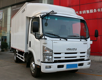 Japanese ELF K600 4x2 light dry van box cargo truck