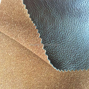 Pu Leather Material Genuine Leather Graft Bonded PU Leather for High End Sofa Furniture