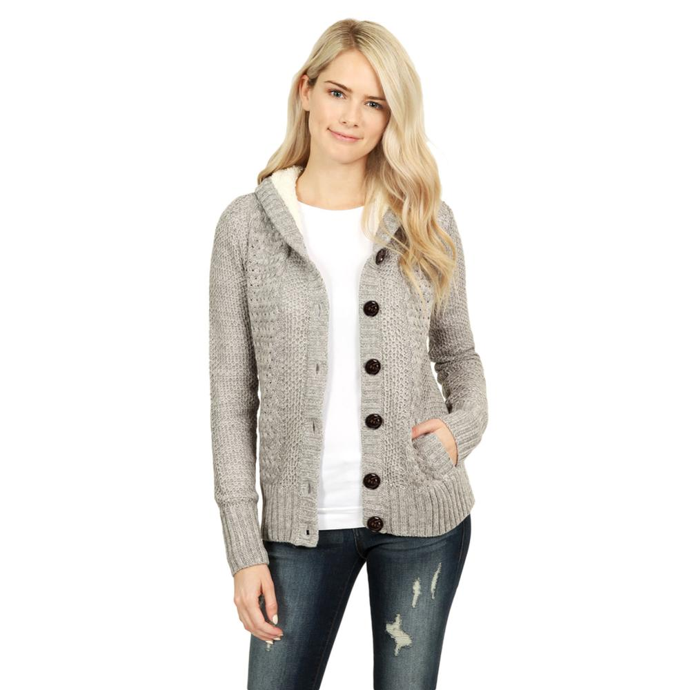 Fashion Sweaters Cardigan Women Long Sleeve Sweater