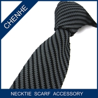 100% silk knitted necktie to match shirts