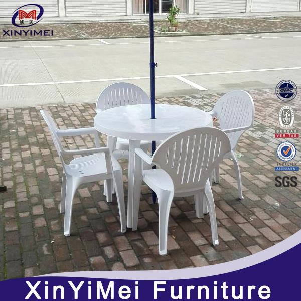 coffee house outdoor plastic chair and table