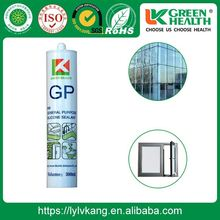 Waterproof Cartridge Acetic Acid Glass Silicone Sealant