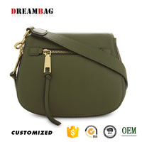 GZ high end OEM soft grained leather bonia handbags