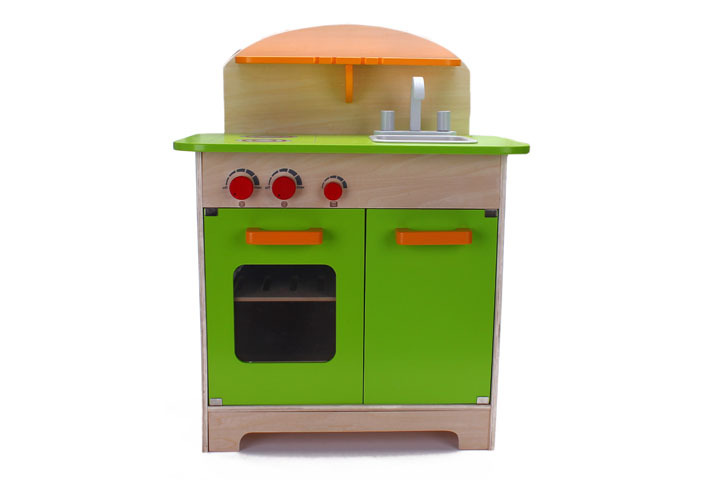 Children wooden kitchen play set pretend toys wholesale b for Cheap childrens kitchen sets