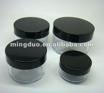 50g-300g cosmetic PS round jar