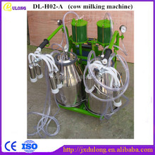New type 2 buckets small cow milking machine kenya