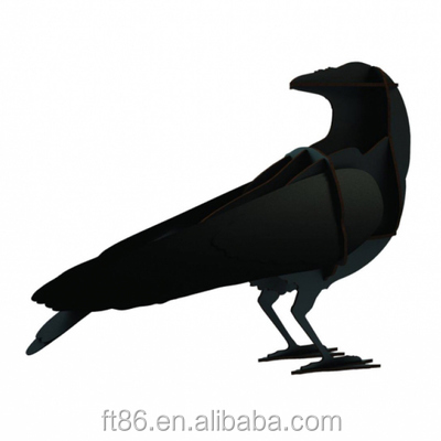 wholesale flying crow hunting decoy crow decoy mold for hunting