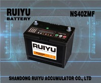 12V NS40ZMF 35AH made in China car/auto/motor vehicle/automobiles battery