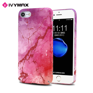 IVYMAX UV Printing Pink Mobile Case Phone Cover For i Phone7 8 Case