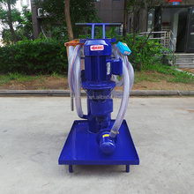 LYC-G series wasted engine oil recycling machine to refine used motor oil to diesel oil filter cart