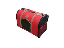 Hot selling portable durable red lucky pet carrier bag