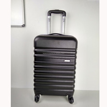 Custom Colored 3 Pcs ABS Luggage Travel Set Bag PC Trolley Suitcase