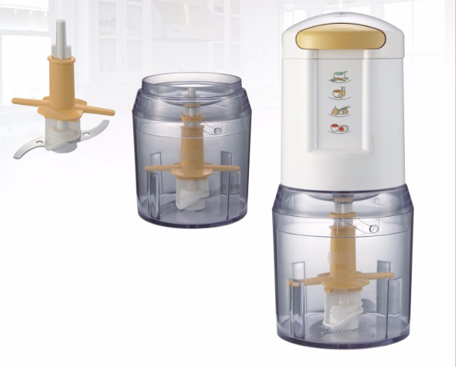 electric mini food chopper cute electric plastic double stainless food processor 2 in 1 Mini Chopper
