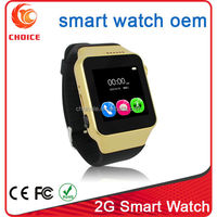 2016 Factory Price android sim watch touch screen telefon android dual sim