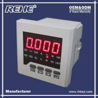 China Supply Electric Low Price Monitoring Meter 72*72mm Digital LED Multimeter with Free RS-485