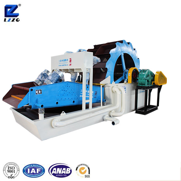 LZZG Wheel Cleaner Gravel Washing and Fine Ore Recycling Machine