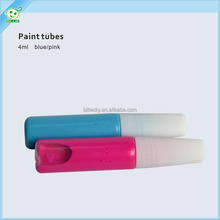 pain tubes for baby handprint clay blue color or pink color