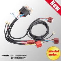 Patent product hot sale waterproof 12V 2 auto wiring kits CH-1202LZ