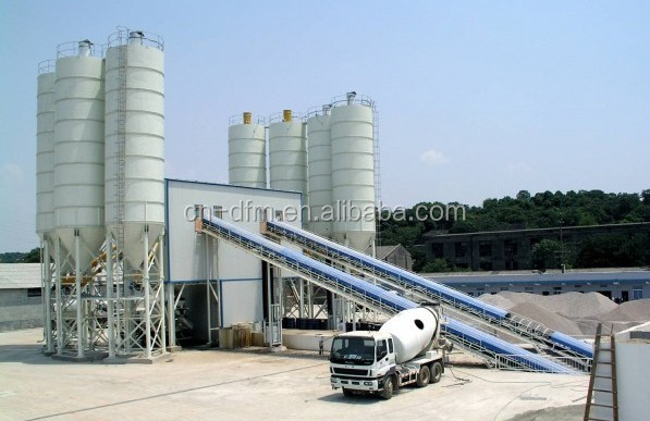 competitive price 40m3/h mobile concrete batching plant