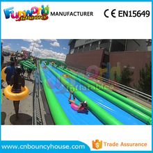 Inflatable street water slide inflatable city slide for fun