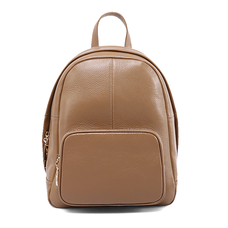 Wholesale casual genuine leather lady travelling backpack bag