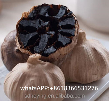 6cm FDA Certificate Whole Black Garlic For Hot Sale
