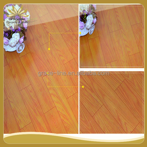 Anti Slip HIGH GLOSS plank PVC Vinyl Flooring prices