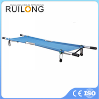 Portable Aluminum Alloy Patient Military Transfer Bed