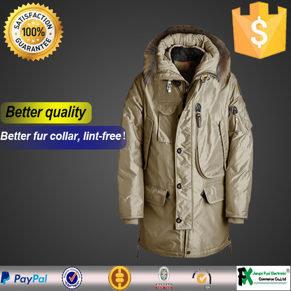 Winter special offer handsome long style college jacket