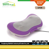 Butterfly shape car and home massage pillow & Heating function with CE&Rohs