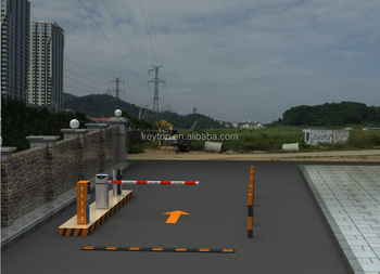 KEYTOP foldable carbon fiber IP55 automatic parking barriers