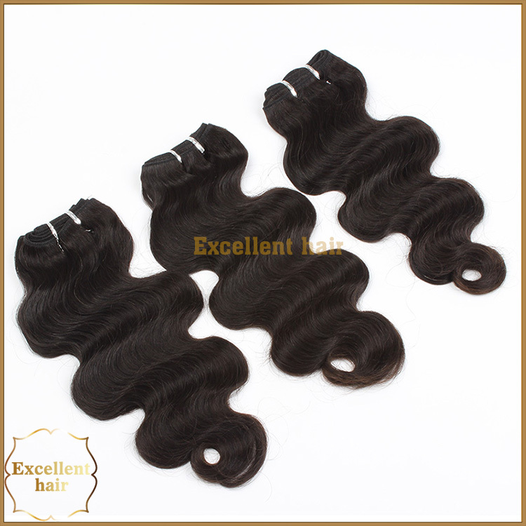 6A Grade Wholesale Brazilian Virgin Hair Body Wave Human Hair Extension Bundles 3pcs 16'' a lot