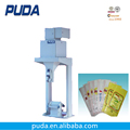Open mouth bag semi automatic sugar in 25kg bag packing machine