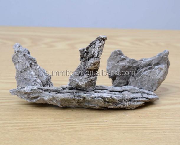 how to create fake rocks aquarium
